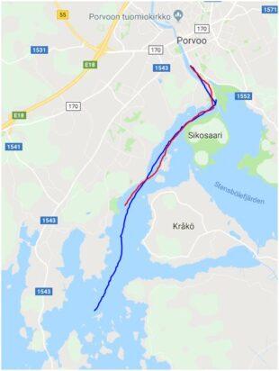 Reitit - Rutter - Routes
